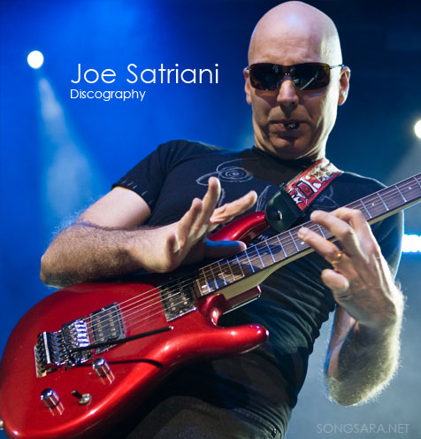 Joe Satriani - Discography